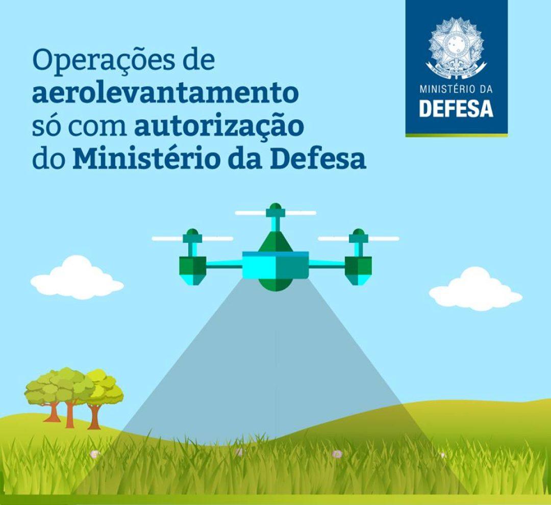 Aerolevantamento Ministério da Defesa